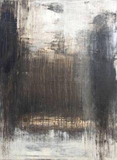 "Saatchi Art Artist Roger König; Painting, """"1115 abstract brown/white"""" #art"