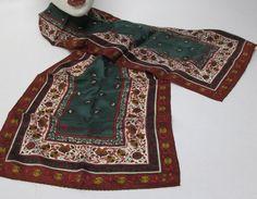Long Rectangle Anne Klein 100% Silk Scarf by AlternatingPatterns