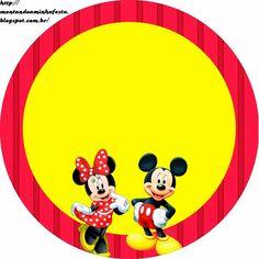 Minnie y Mickey: Etiquetas Gratis para Candy Bar.   Ideas y material gratis para fiestas y celebraciones Oh My Fiesta!
