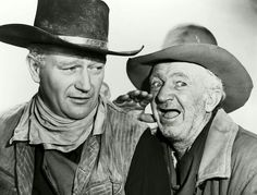 John Wayne and Walter Brennan                              …                                                                                                                                                                                 More