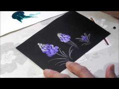 【トールペイント】描き方㉙ ムスカリ Muscari - YouTube