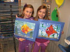 Jamestown Elementary Art Blog: 2nd Grade Printmaking Collage