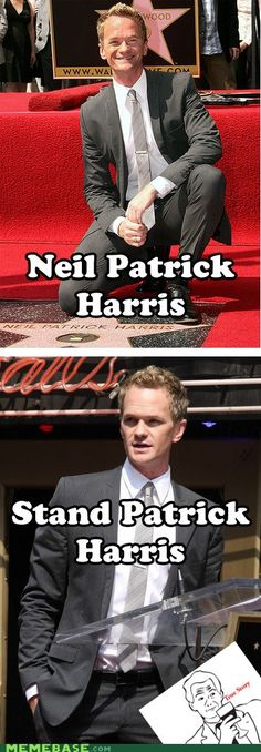 Neil Patrick Harris. . hahaha! So funny :)