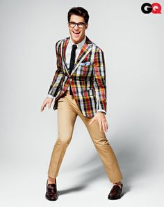 If my future husband is not Darren Criss, can he at least dress like him?