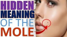 These Are the Hidden Meaning of the Moles in Each Area Of your Body According to many cultures around the world including Greek, Indian, and Chinese, the position of moles on different parts of the body can reveal a lot about a person's character. For example, a mole on the forehead is considered a sign of a strong, independent personality. Although the exact location of the mole also changes its significance. Natural Health Remedies, Natural Cures, Natural Skin Care, Health And Beauty Tips, Health Tips, Health Benefits, Health Care, The Mole