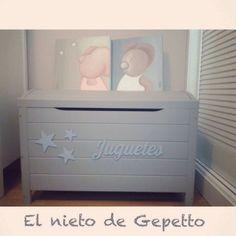 Juguetero #elnietodegepetto