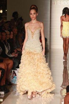 Evening Sherri Hill - Runway - Spring 2013 Mercedes-Benz Fashion Week