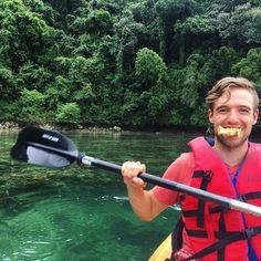 Kayaking through the Rock Islands