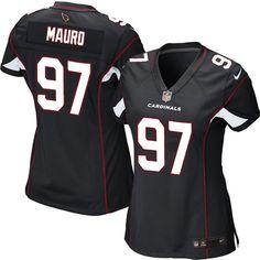 Nike Elite Josh Mauro Black Women's Jersey - Arizona Cardinals #97 NFL Alternate