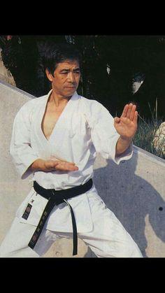 """A perfect """"shuto-uke"""" by our soke Hirokazu Kanazawa.Oss!"""