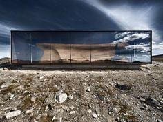 Wild Reindeer Centre Pavilion, Dovrefjell National Park, Norway: Snohetta Architects