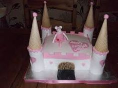 Angelina Ballerina Castle Cake pink and white themed angelina ballerina cake, all edible, made for my daughters birthday Angelina Ballerina, Ballerina Cakes, 4th Birthday, Birthday Ideas, To My Daughter, Daughters, Appetizers For Party, Wedding Events, Wedding Cakes