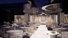 wedding concept - 岚 on Behance Wedding Stage, Wedding Photos, Dream Wedding, Aesthetic Pictures, Landscape Design, Beautiful Places, Wedding Planning, Wedding Decorations, Chandelier