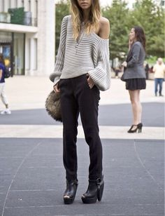 Love this relaxed look