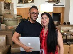 With Paulo Baroso at #tecademics