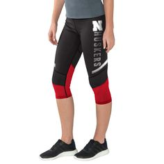Nebraska Cornhuskers G-III 4Her by Carl Banks Women's Half Marathon Knee Capri Pants - Scarlet - $34.99