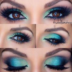 Gorgeous Makeup, Love Makeup, Makeup Inspo, Makeup Inspiration, Makeup Course, Mac Makeup, Skin Makeup, Eyeshadow Makeup, Green Eyeshadow