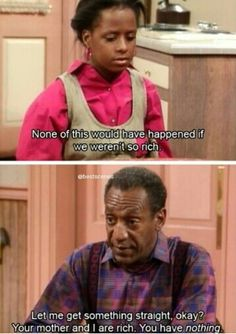 Cosby Show. Best. Quote. Ever. ahahahaha