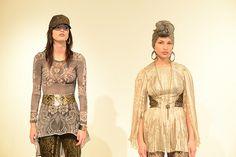 Models wear Michael Drummond
