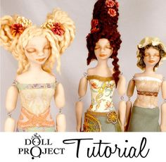 Art Doll Tutorial  Pillow Form Figures  How to make by DollProject, $45.00  So danged cool. One day I'm a'gonna learn how to do these! Gorgeous, amazing gifts, and perfect thing for stashbusting tiny bits of fabric!