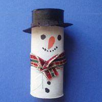 hóember Winter Art, Winter Theme, Christmas Holidays, Christmas Crafts, Christmas Ornaments, Snowy Day, Toilet Paper Roll, Snowman Crafts, Kids Church
