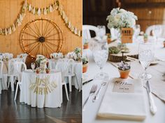 rustic inspired receptions - photo by With Love and Embers http://ruffledblog.com/ostertag-vistas-wedding