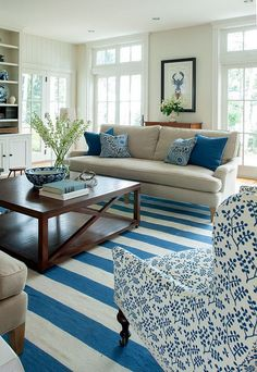 Maine Beach House with Classic Coastal Interiors homebunch.com