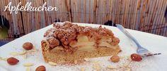 Leckeres Rezept für einen veganen Apfel Zimt Nuss Kuchen von unserer Gastautorin Kim.  #vegan #kuchen #apfelkuchen