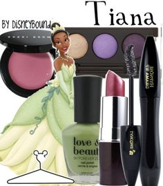 Disneybound: Tiana (makeup) from The Princess and the Frog