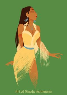 Pocahontas by nicolasammarco on deviantART