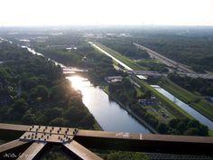 ♥ Ruhrgebiet/Ruhrpott ♥ Blick vom Gasometer - Oberhausen ...