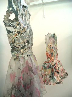 patternprints journal: VERY DETAILED PATTERNS IN AMAZING TEXTILE PROJECTS AND CLOTHS BY MARIT FUJIWARA