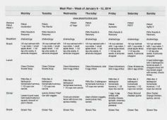 P90x3 Lean Workout Schedule
