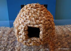 A Traditional Irish Woven Straw Hen's Nest