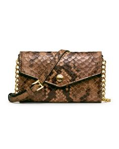 MICHAEL Michael Kors  Snake-Embossed iPhone Crossbody Case. pretty good!!