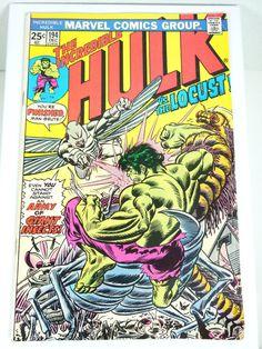 The Incredible Hulk Comic BookFREE by Moonlightdecorator on Etsy, $12.00