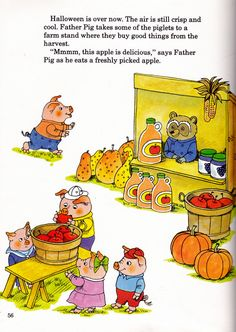 """""""Best Busy Year Ever"""" by Richard Scarry (https://www.etsy.com/listing/151772158/vintage-kids-richard-scarry-book-best?ref=related-2)"""
