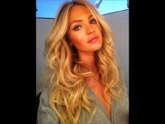 VS Angel hair plus I love this blonde hair color! Perfect blonde color VS Angel hair plus I love this blonde hair color! Perfect blonde color was last… Wedding Hairstyles For Long Hair, Pretty Hairstyles, Wavy Hairstyles, Beach Hairstyles, Style Hairstyle, Bride Hairstyles, Beauté Blonde, Golden Blonde, Blonde Color