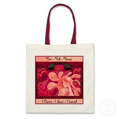 Veni Vidi Venus (Budget Tote)  I came - I saw - I loved! ... Romantic, imaginative,  IconDoIt's original artwork on this Tote Bag is perfect as a gift bag for that slinky negligee, box of chocolates, matching giftware, or just by itself!  Great way to express your love in a memorable way on any occasion! (But especially for Valentine's Day, Sweetest Day, and Anniversaries) @ www.zazzle.com/icondoit?rf=238155573613991097
