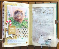 Book Libros, Diy And Crafts, Paper Crafts, All Paper, December Daily, Snail Mail, Altered Books, Travelers Notebook, Junk Journal