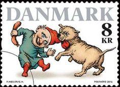 Sello: Pixies (Dinamarca) (Winter Stamps) Mi:DK 1906