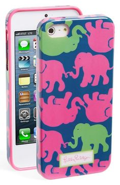 Lilly Pulitzer® 'Tusk In Sun' iPhone 5 & 5s Case available at #Nordstrom