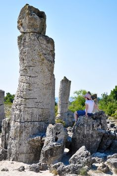 The Fertility Stone, The Stone Forest, Varna, Bulgaria