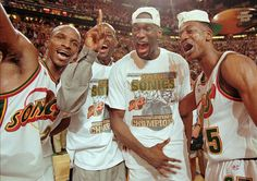 Rare Photos of Shawn Kemp Janet Evans, Lolo Jones, Chris Mullin, John Daly, Nba Season, Rocky Balboa, Mike Tyson, Sports Illustrated, Basketball Players