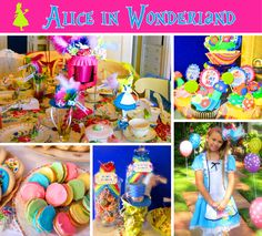 Alice In Wonderland party ideas | love this whimsical Alice in Wonderland Party submitted by Stephanie ...