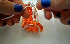 TUTORIAL: pulsera con ganchillo | Fabricando Arte