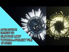 AFTER EFFECTS|ELEMENT 3D |GLOWING LOOP|TUTORIAL+PROJECT FILE| BY NPS3D|YOUTUBE - YouTube Video Effects, After Effects, Film Movie, Motion Graphics, Glow, Youtube Youtube, Game Ideas, 3d, Photo And Video