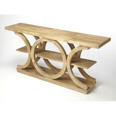 Make a statement with the Butler Specialty Stowe Rustic Console Table . Constructed of solid mango wood, this console table has a unique, sculptural. Rustic Console Tables, Rustic Table, Butler, Into The Woods, How To Distress Wood, Modern Rustic, Decoration, Solid Wood, Potted Plants