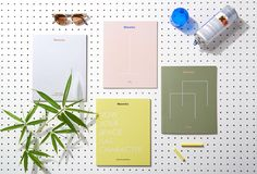"Manerba Office System Catalogues Design by La Tigre ""Each catalogue talk about different Manerba's office systems: each one has its own color palette, different paper and finishing to convey the products complexity."" La Tigre is an independent media..."