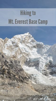 Things that nobody tells you about hiking to Mt. Everest Base Camp - our findings revealed after a stunning 17 day trek.  Read our blog and be inspired!